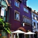 D'Brendelstub  - la façade et la terrasse -