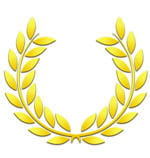 une couronne de laurier pour rendre hommage à la rome antique