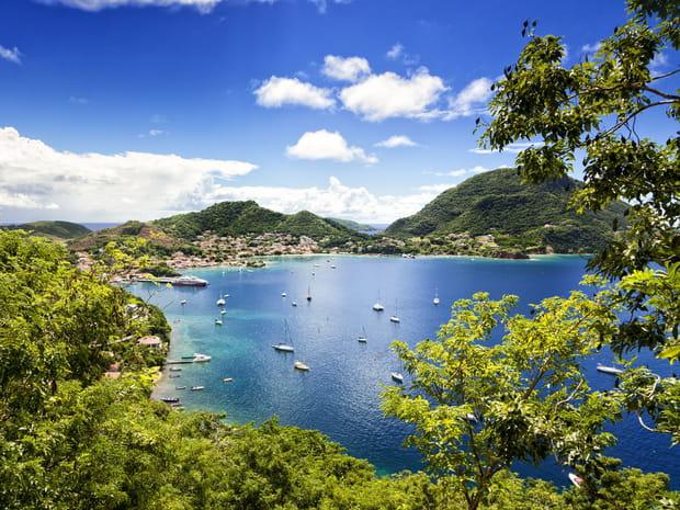Les Antilles françaises: le soleil en hiver