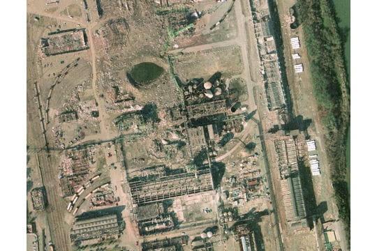 78 hectares rasés