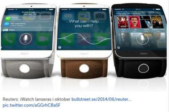 iWatch: lamontre d'Apple annoncée pour octobre [Images]