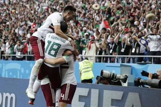 Groupe F: classement et résultats du groupe de l'Allemagne, la Suède et du Mexique