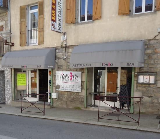 L'Envers  - Devanture restaurant -