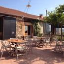 Restaurant : La Colline du Colombier  - Terrasse du colombier  -
