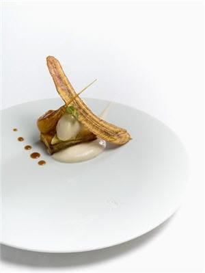 La Grenouillère  - Banane, chips, glace et brioche -   © Auberge de la Grenouillère