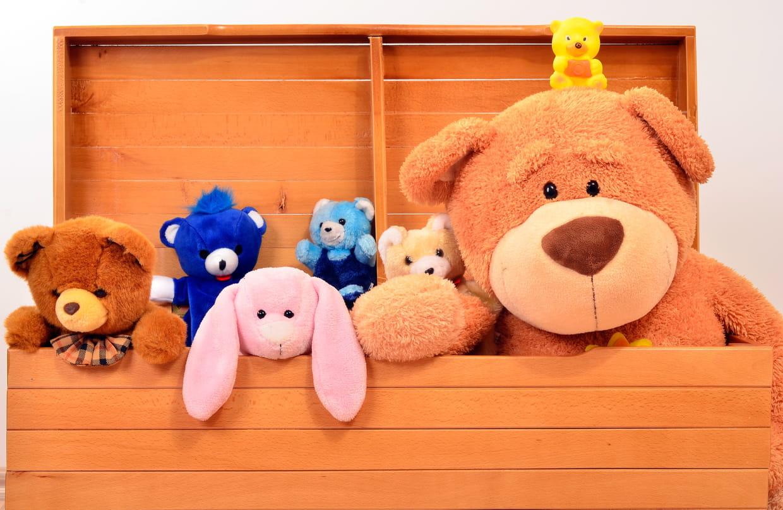 Coffre à jouets : comment bien le choisir, nos modèles coups de coeur