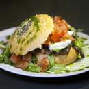 Chez Alcide  - Salade Tomates-mozzarella di bufala -