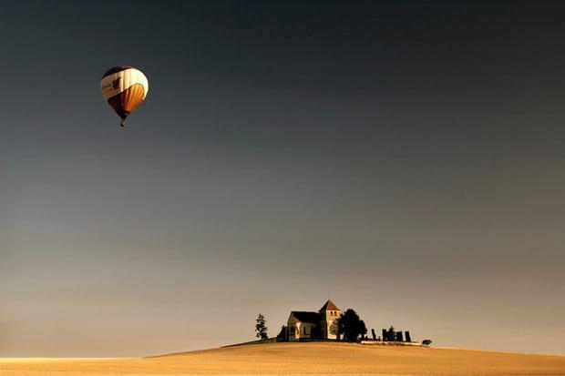 La Bourgogne en montgolfière