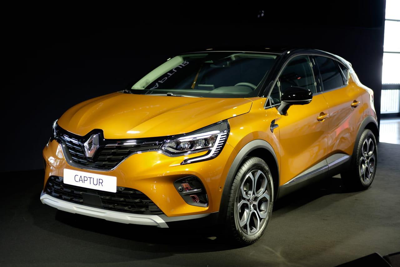 Les photos du nouveau Renault Captur au Salon de Francfort