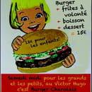 Le Victor Hugo  - Burger Party samedi 9 février -