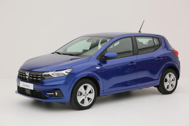 La Dacia Sandero 3e génération en images