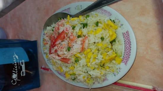 Plat : Hong yun  - Riz au crabe -