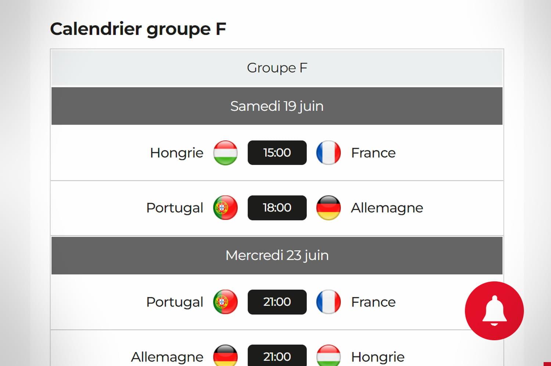 Calendrier de l'Euro 2021: la liste des matchs à suivre ce samedi 19juin 2021