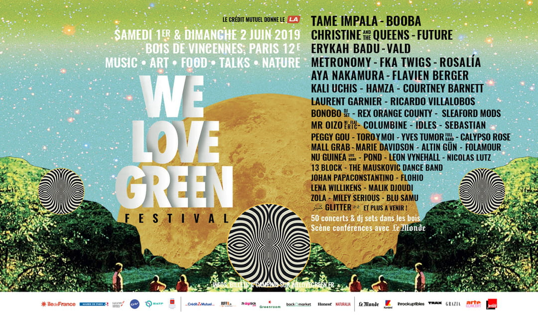 """Résultat de recherche d'images pour """"timetable we love green 2019"""""""