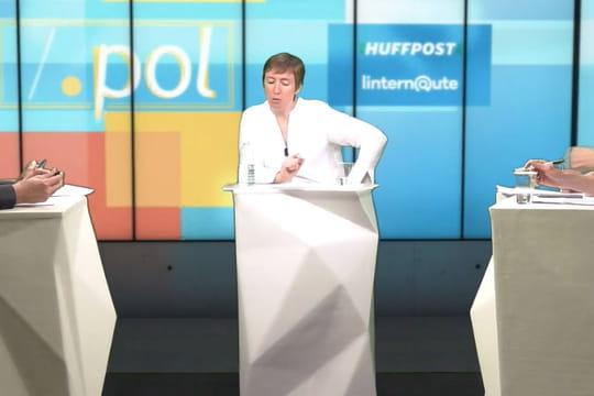 Caroline De Hass invitée de .pol ce jeudi (intégralité)