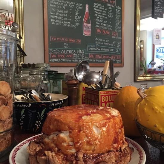 Dessert : Café du Nord  - Île flottante. -