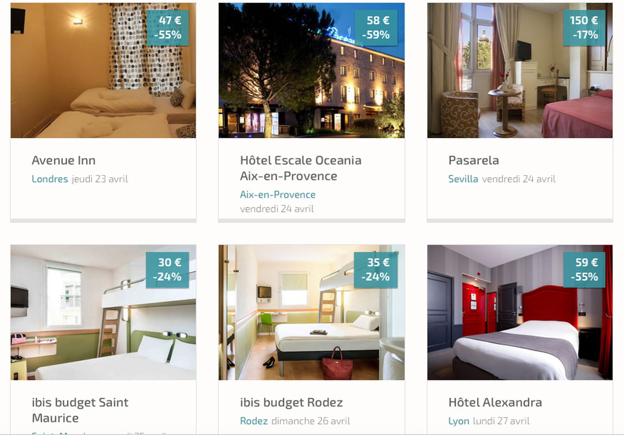 Dreamcheaper et room room deux start ups pour payer sa for Nuit hotel pas chere
