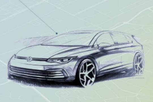Nouvelle Volkswagen Golf: présentée à la rentrée, les premières photos