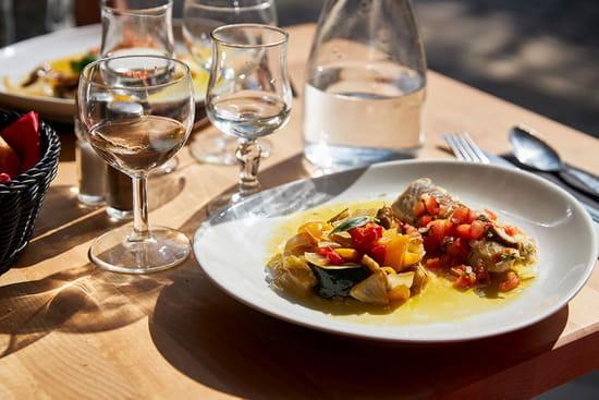 Plat : Le Mas du Calme  - Exemple de cuisine -   © Auteuil