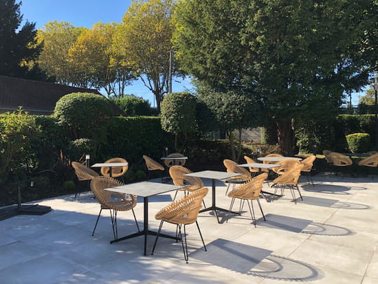Restaurant : La Laiterie  - La terrasse -   © SM