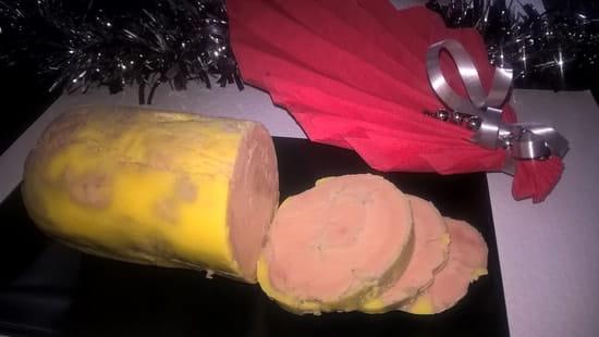 Le Damier La Table de l'Aubergiste  - foie gras maison -