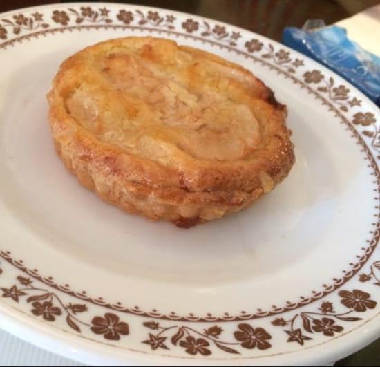 Dessert : Brasserie de la Bourse  - Tarte aux poires -