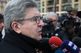 """Jean-Luc Mélenchon:condamné, il accuse """"la macronie"""" et ironise sur François Bayrou"""