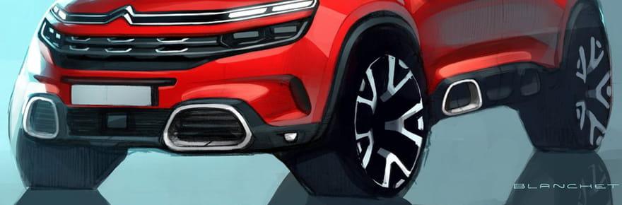 Citroën C5Aircross: les premières images du SUV