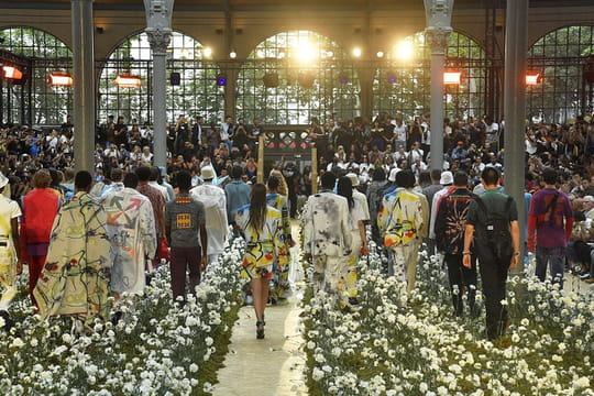 PNL: Ademo et N.O.S à la Fashion Week... un joint à la main