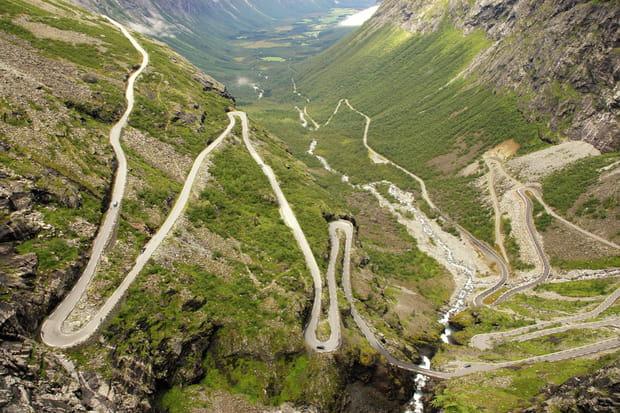La Route des Trolls en Norvège