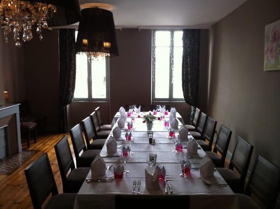 La Table  - notre salle à l'étage -