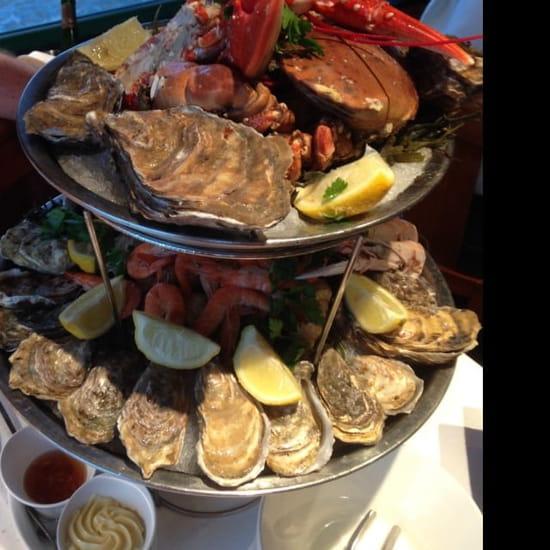 Plat : La Brasserie du Sillon  - Plateau de fruits de mer -