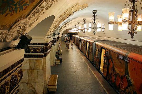 La beauté du métro de Moscou