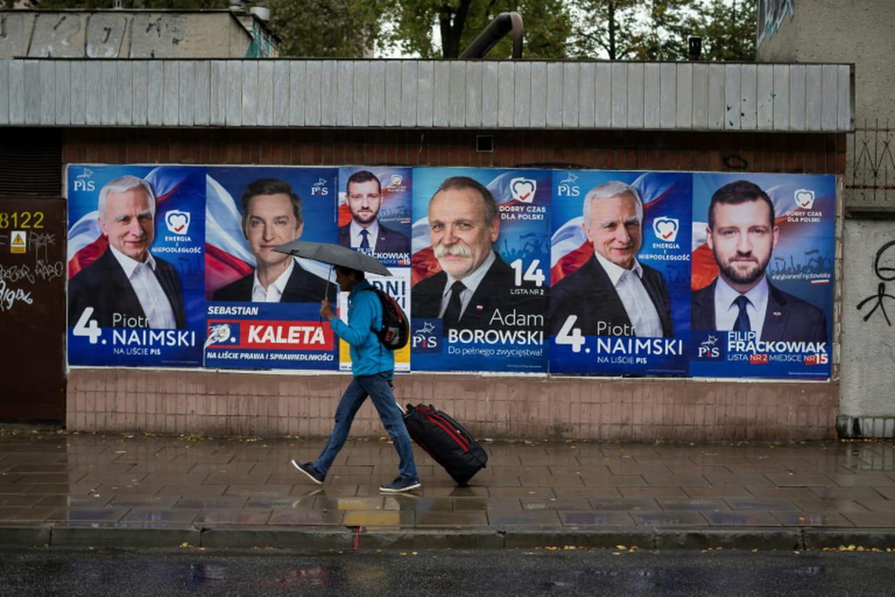 Polarisés, les électeurs polonais plus nombreux à voter