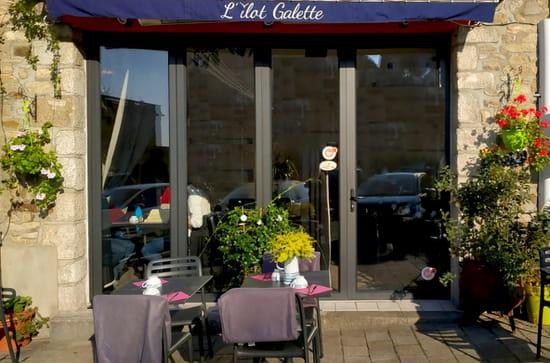 Restaurant : L'Ilot Galette  - www.labonapp.fr -   © Bonjour