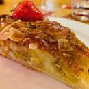 Dessert : SOFA Café  - Tarte amandine aux mirabelles -   © sofacafeparis9