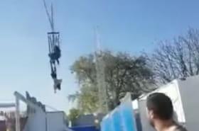 Foire du Trône: elle frôle la mort dans un accident de manège [VIDEO]