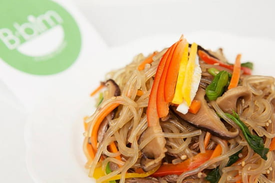 B-bim  - Japchae (Légumes variés et nouilles à la patate douce) -