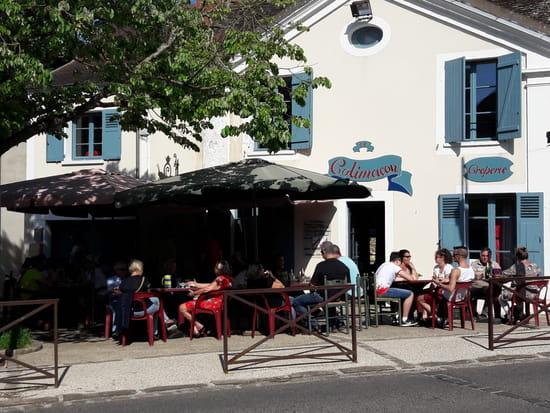 Restaurant : Le Colimaçon  - TERRASSE ENSOLEILLE -   © LE COLIMACON