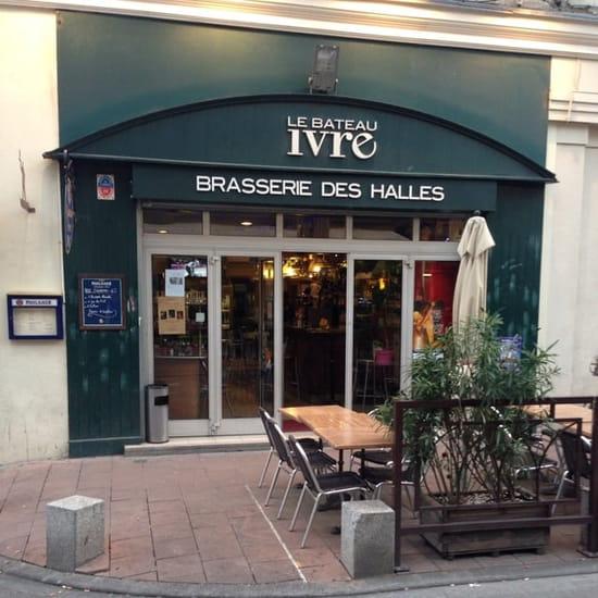 Restaurant : Le Bateau Ivre  - Brasserie  centre Avignon  face halles.   Plat du jour entre 11€ et14€ -