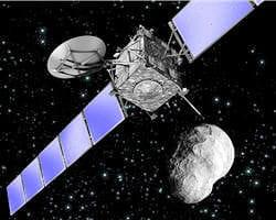 les déchets spatiaux sont aussi dangereuxque les météorites ou les astéroïdes.