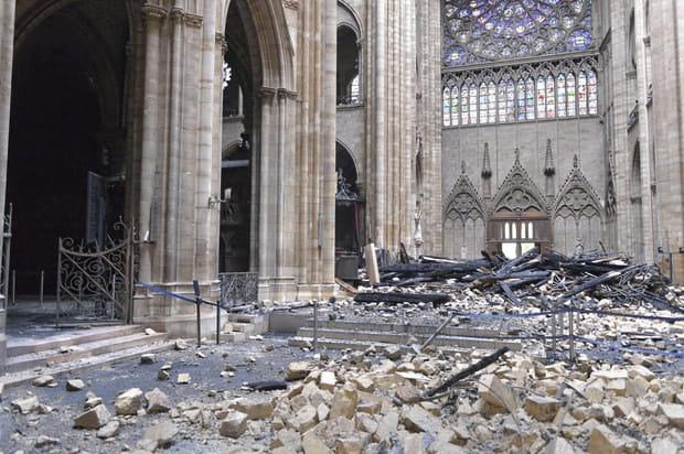 Les photos de Notre-Dame après les flammes