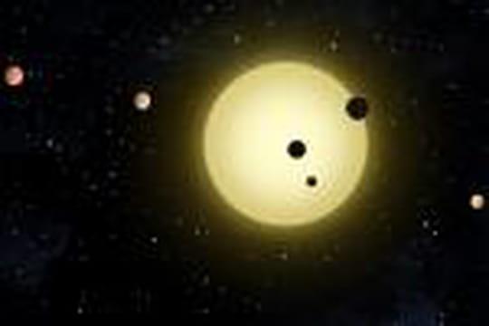 Un nouveau système stellaire mis au jour par le télescope Kepler