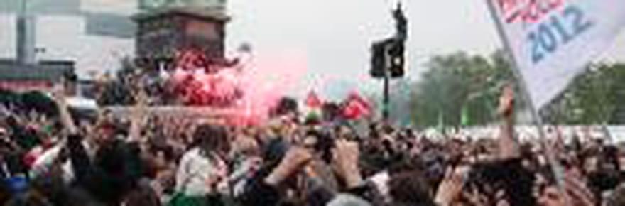 6 mai 2012 : la Bastille fête son nouveau président de la République