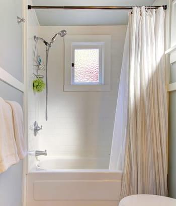 laver le rideau de douche