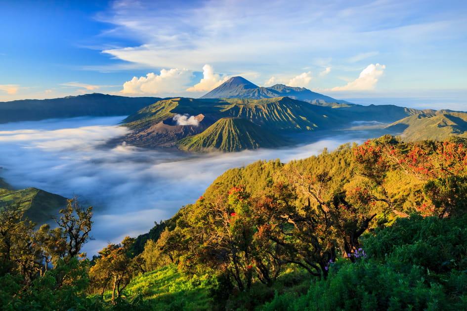 Le volcan Bromo sur l'île de Java