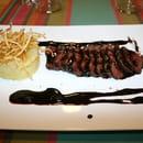 Restaurant Le Gantxo  - Magret sauce cacao -   © Elodie Lafitte, www.crok-photo.fr