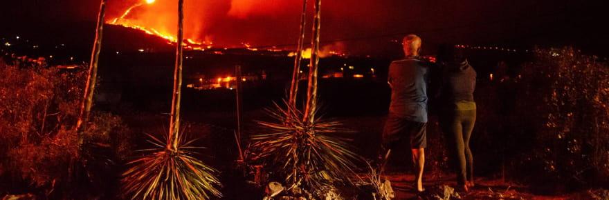 Volcan aux Canaries: l'éruption en images, un séisme d'intensité record, les dernières infos
