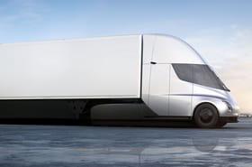 Tesla Semi: le premier camion électrique de Tesla en images