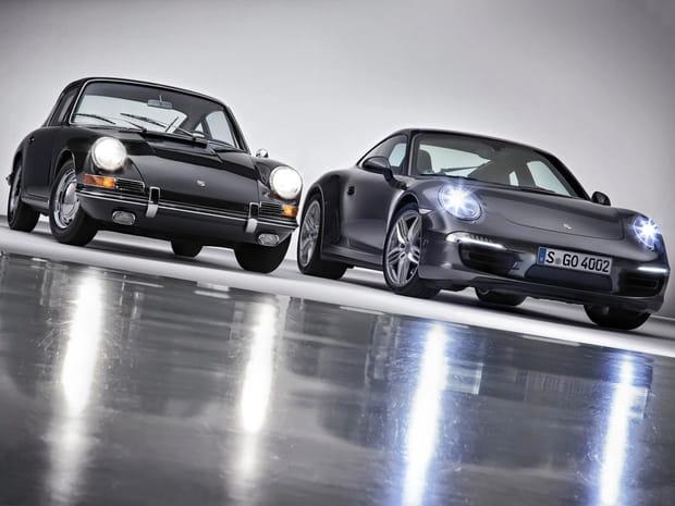 La Porsche 911fête ses 50ans